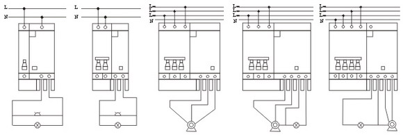 DZ47LE Earth Leakage Circuit Breaker wiring diagram2 dz47l, c45l,earth leakage circuit breaker,elcb,china ningbo 2 pole breaker wiring diagram at bakdesigns.co