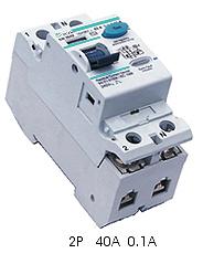 TGRC Residual Current Circuit Breaker (RCCB),2P 40A 0.1A