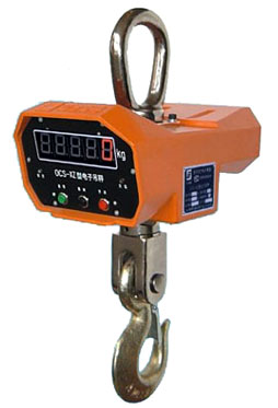One side crane scale--A type LCD
