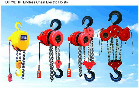 DHY,DHP endless Chain Electric Hoist