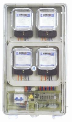 transparent meter boxs