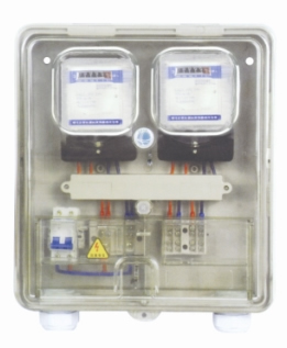 transparent meter box