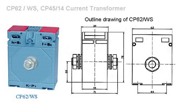 CP62  WS, CP4514 Current Transformer