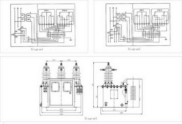 JLS-6,10,35 Model high voltage electric measuring bank